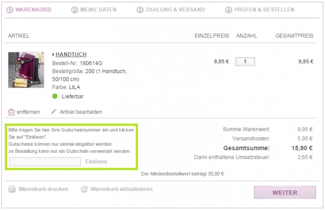 Gutschein-Hilfe Brigitte Salzburg