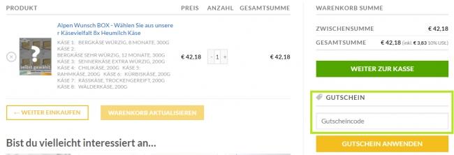 Gutschein-Hilfe Alpen Sepp