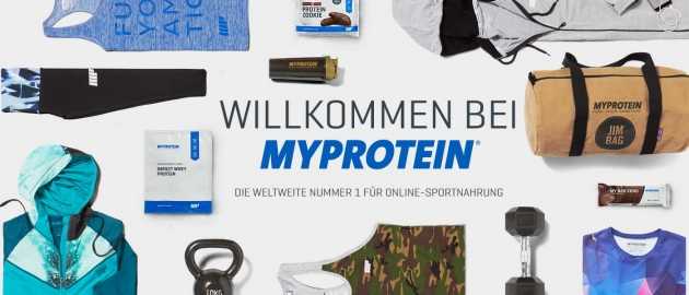 Myprotein auf Couponster.at