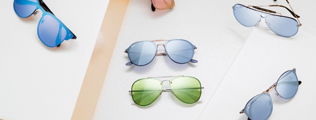 Sechs Sonnenbrillen von Ray-Ban