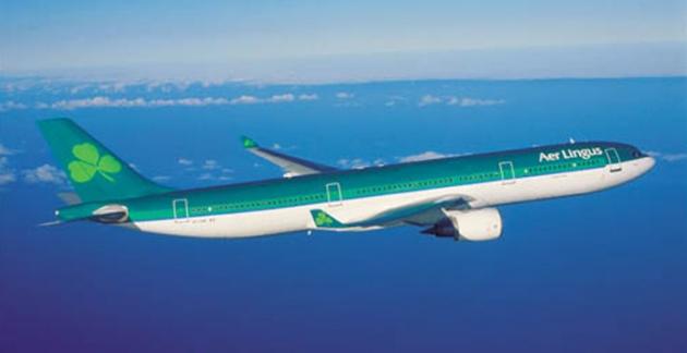 Ein Airbus A330 der Aer Lingus