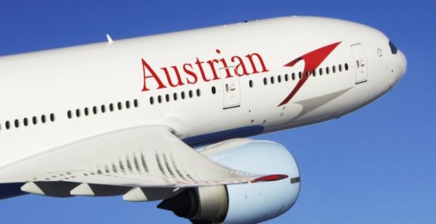 Günstig Fliegen mit Gutscheinen für Austrian Airlines