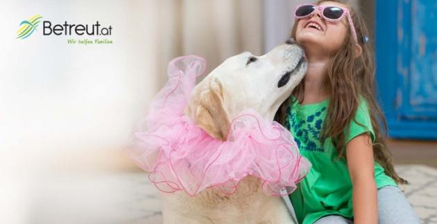 Neben Kinderbetreuung und Haushaltshilfen findest Du auch Hundesitter bei Betreut.at