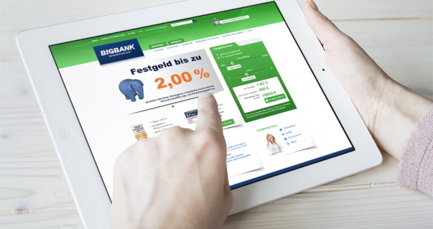 Deine BigBank hat sich auf Verbraucherkrediten und Termineinlagen spezialisiert
