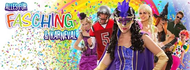 Bei Buttinette bekommst Du alles für Fasching und Karneval