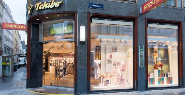 Eduscho Geschäft in Wien