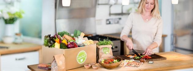 gesunde Lebensmittel als Koch-Abo: HelloFresh