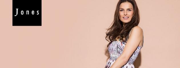 Die Mode der Jones Kollektion richtet sich speziell an anspruchsvolle Frauen