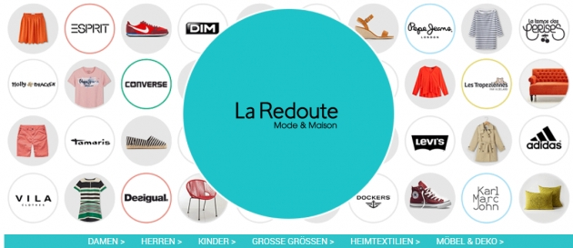 La Redoute bei Couponster.at