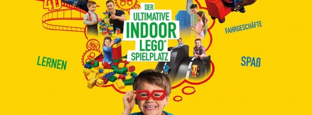 Der ultimative Indoor Lego Spielplatz