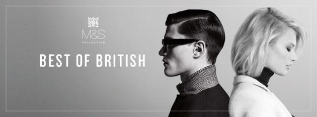 entdecke den britischen Style - mit Marks & Spencer