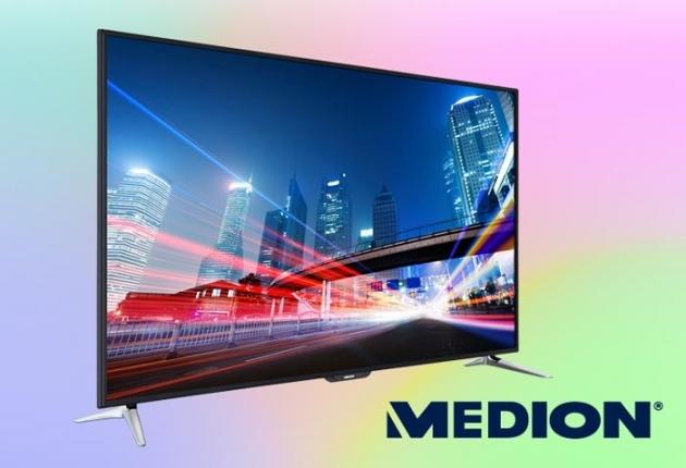 günstige Fernseher und mehr findest Du bei Medion