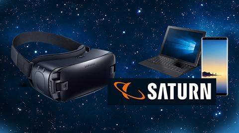 Laptop, Smartphone und Wii von Saturn