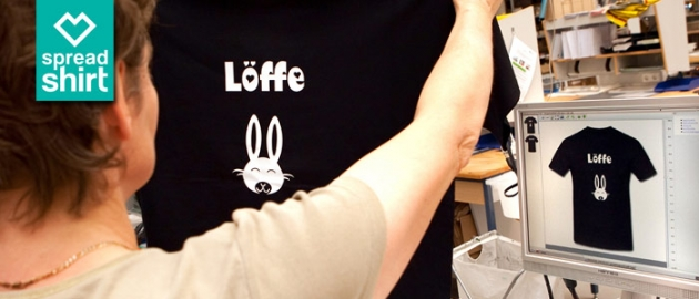 T-Shirt Druck von Spreadshirt – Zeig, was Du drauf hast.