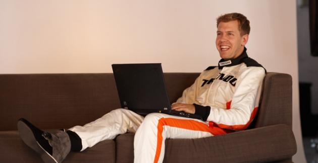Sebastian Vettel, der offizielle Markenbotschafter von Tirendo