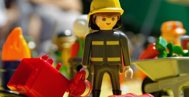 Im Sortiment von Toys 'R' Us gibt es Artikel von Playmobil