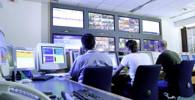 Das Network Operations Center von UPC Österreich