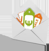 Gutschein Newsletter bestellen
